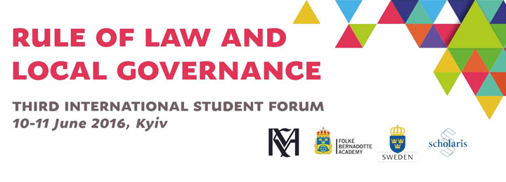 RULE OF LAW AND LOCAL GOVERNANCE