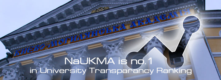 NaUKMA is no.1 in Transparancy rating